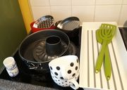Diverses Küchen-Zubehör zu verschenken nicht