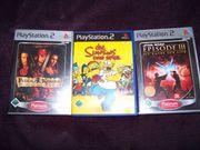 3 PS2 Spiele