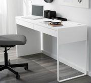 MICKE Schreibtisch, weiß