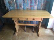Schreibtisch Kinderschreibtisch verstellbar Massivholz Vollholz