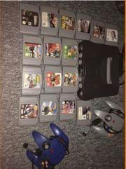 Nintendo 64 Mit 16 spielen