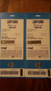2 Konzertkarten Lady