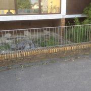 Hofeinfahrtstür + Gartentür + Zaunelemente