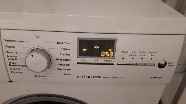 Siemens waschmaschine wm14e492 lagerschaden läuft aber noch in