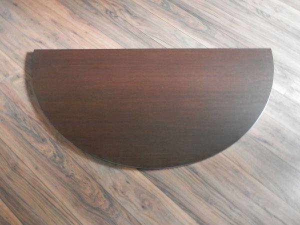 Tischplatte massivholz rund  Runder Tisch kaufen / Runder Tisch gebraucht - dhd24.com