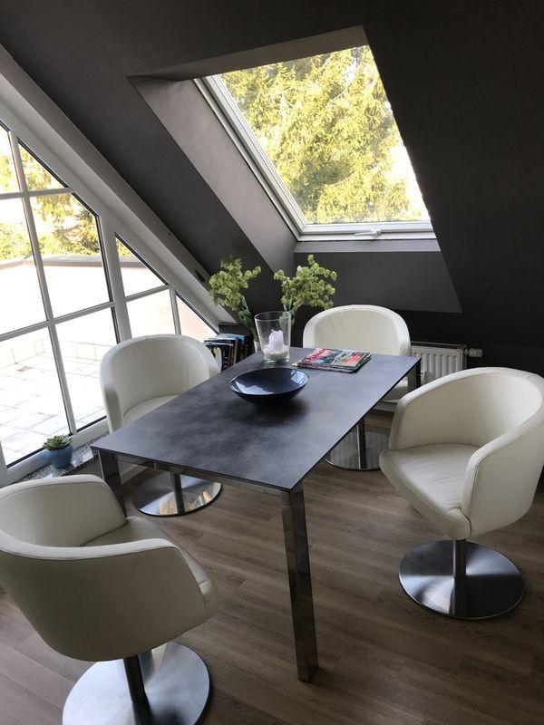 München Designermöbel verkaufe moderne und sehr gut erhaltene esszimmerstühle k w in