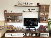 Wohnzimmer Möbel (Nussbaum-