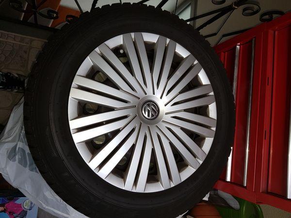 VW Winterreifen mit Stahlfelgen