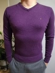TOMMY HILFIGER Pullover LAMMWOLLE Größe
