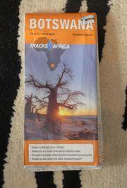 Botswana Tracks4Africa GPS-