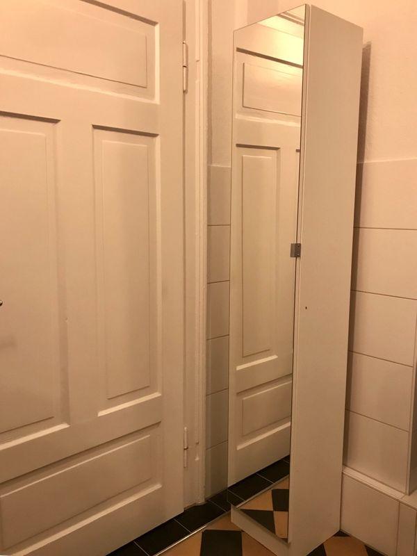 Badezimmer Hochschrank Spiegelschrank Weiss In Karlsruhe Bad