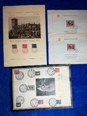 Briefmarken, Ersttagsbriefe