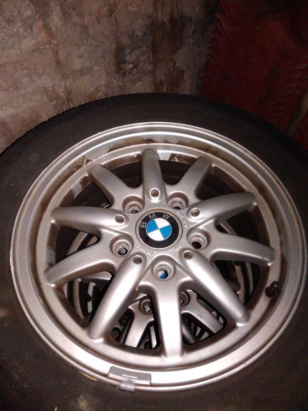 BMW 3er e36 Original Alufelgen