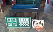 Fußballtisch Spieltischkombination