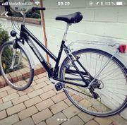 Schönes Fahrrad. Fahrbereit.