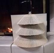 Buchkunst Tannenbaum - Weihnachtsgeschenk