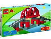 Lego duplo Eisenbahnbrücke