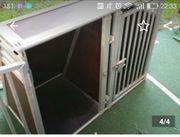 Schmidt Hundebox Alu Doppelbox 105