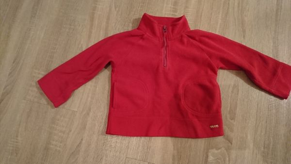 Rosa Fleecepulli Gr. » Kinderbekleidung