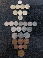 Münzsammlung GB Pfund