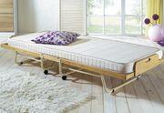 Gästebett Holz klappbar Bett Raumsparbett