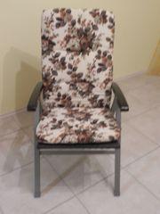 Sitzkissen für Gartenmöbel