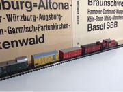 Güterzug mit Diesellok Spur N