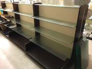 Regale Glasplatten Ladeneinrichtung