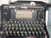 alte Continental Schreibmaschine aus Leipzig