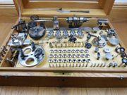 8-mm Uhrmacher-Drehbank Boley mit viel