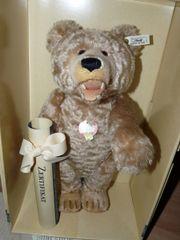 Steiff-Teddy mit Filzzähnen für Sammler