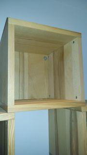 Holz Würfel Regale