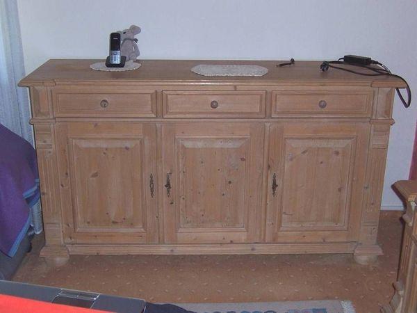 Sidebord Tv Möbel Schlafzimmer 160 Cm Landhaus Massiv Holz In