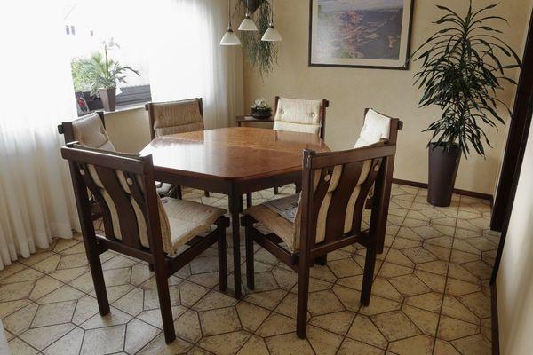 esszimmertisch 6 stuhle gebraucht kaufen nur 3 st bis 65 g nstiger. Black Bedroom Furniture Sets. Home Design Ideas