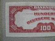 Geldschein Roter Hunderter Rosenberg 244