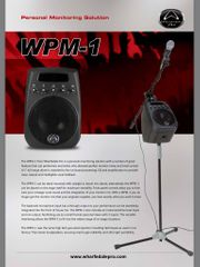 Wharfedale Pro WPM-1 Personal Monitor