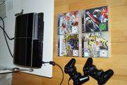 Playstation 3 mit 2 Controller