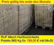 960 Kg RUF Misch Hartholzbriketts