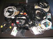 Kabelsortiment und Antennenkabel