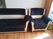 Sofa Couch 1-2 Sessel Sitz