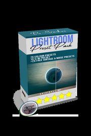 Lightroom Bildbearbeitungs Preset Pack V