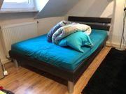 Modernes Futon Bett mit Matratze