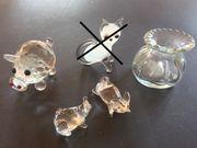 Miniaturen aus Ton und Glas