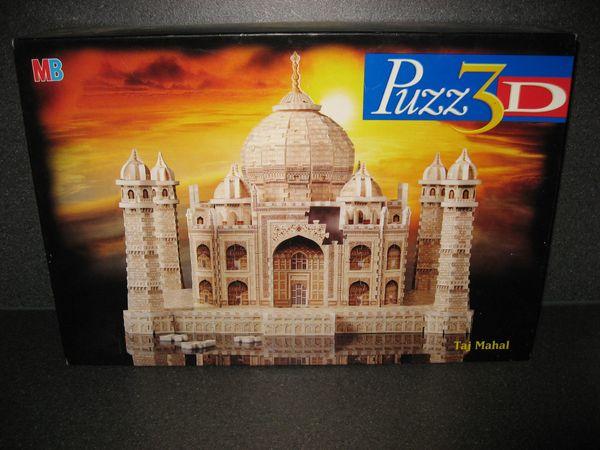 MB OVP Puzz3D 1077 Teile Taj Mahal NEU