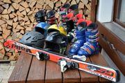 Diverse Ski-Ausrüstung