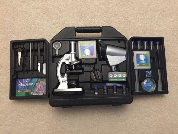 Mikroskop set von tchibo wie neu in münchen sonstiges