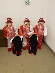3 Clowns zum hinstellen