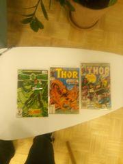Green Laterne und Thor comics