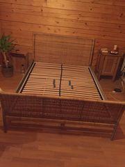 Bett Lattenrost Bettschublade 160x200cm