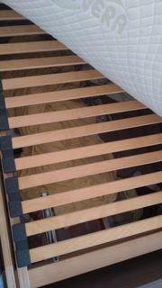 140x200 Stauraum Bett mit Lattenrost